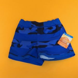New Youth Columbia Short water acuatic blue sz 3T